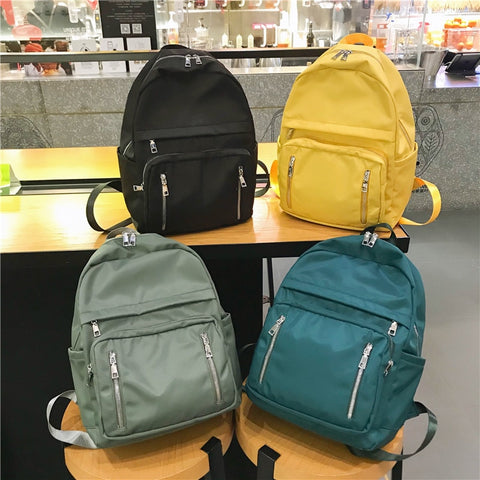 Fashion Women Backpack waterproof Students