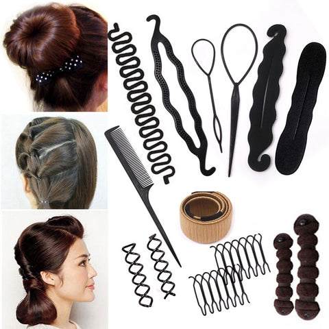Braiding Styling/Hairstyle Hair Bun /Pull Hairpins