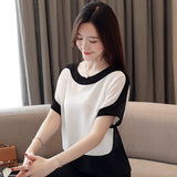Womens tops and blouses fashion  Batwing Sleeve