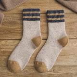 Thick Terry Wool Socks Women for Autumn and Winter