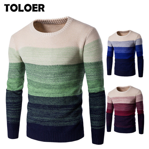 Winter Sweater Men Casual Knitted Soft
