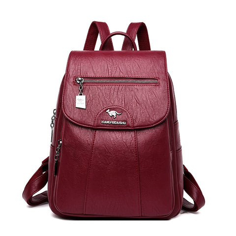 Luxury Soft Leather Backpack