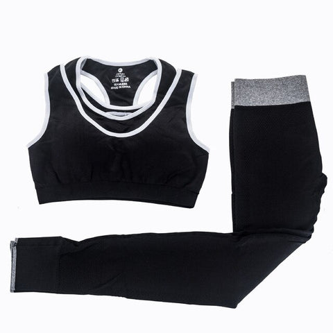 2Pcs Women Yoga Sets