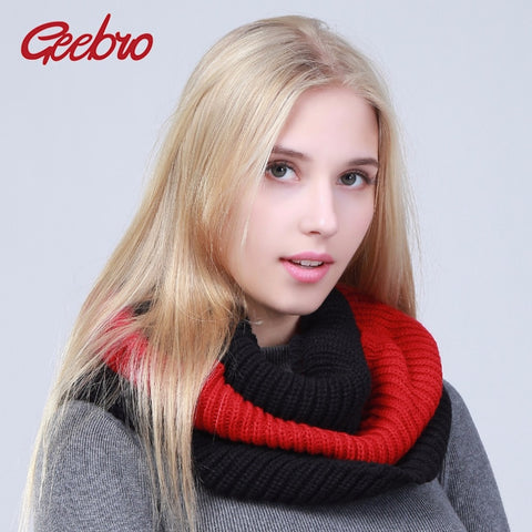 Women's Knitted Scarves Winter Warm Knitting Scarf