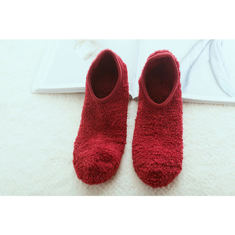 Autumn Winter Cotton Cute Casual Floor Women Ankle Socks