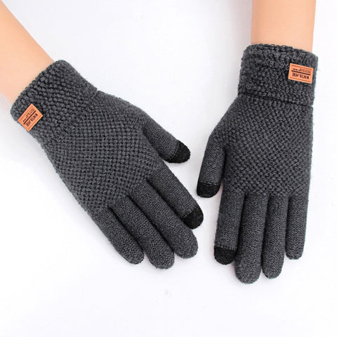 Autumn Winter Full Finger Warm Mittens