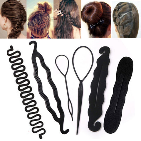 Multi Hair Styling Tools Pull Braider/ Hair Band