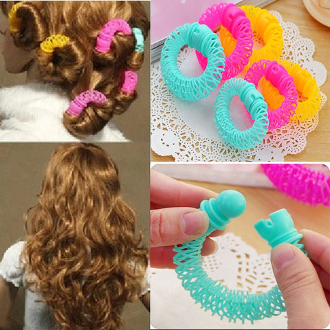 16pcs Spiral Curls Hair Roller