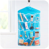 Wall Hanging Transparent 16 Pockets Organizer