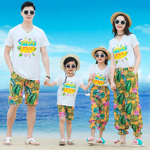 Summer Family outfits Family set