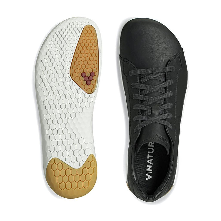 Vivobarefoot Geo Court II Mens Obsidian Sole and Top