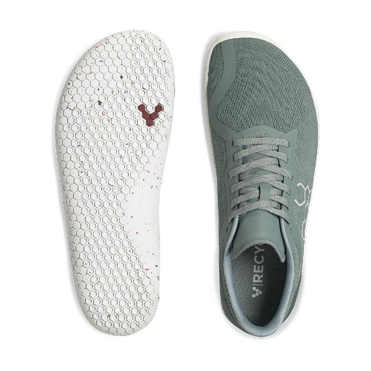 Vivobarefoot Geo Racer II Mens Sea Green Sole and Top