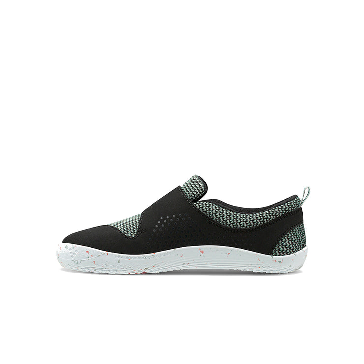Vivobarefoot Primus Toddler Black Aqua Grey