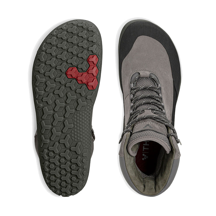 Vivobarefoot Tracker HI FG Dark Grey Womens