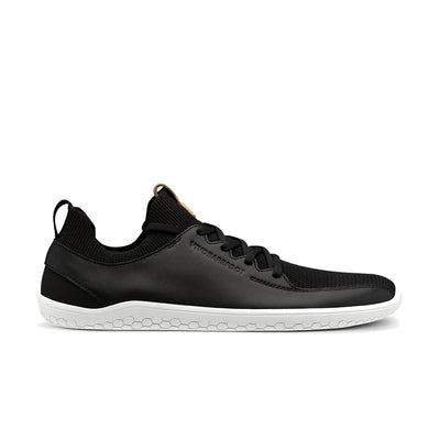 Vivobarefoot Primus Knit Mens Black Leather