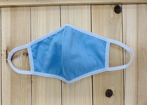 Reusable Face Mask High Quality Cotton in Blue