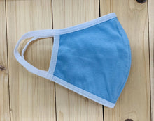 Load image into Gallery viewer, Reusable Face Mask High Quality Cotton in Blue