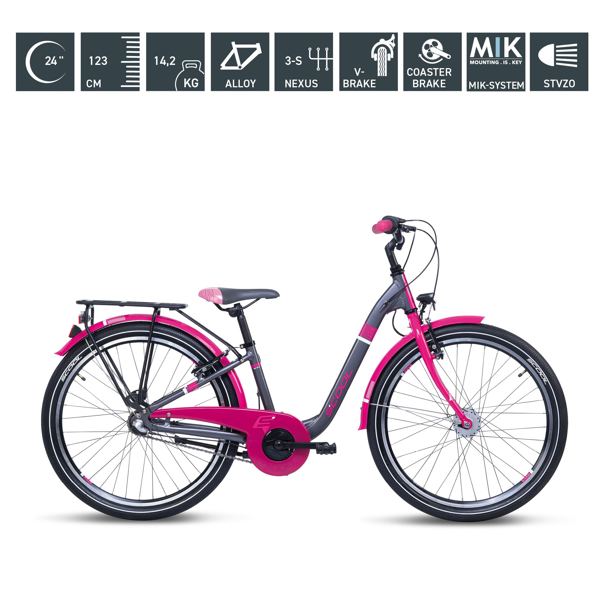 S'COOL chiX alloy 24""