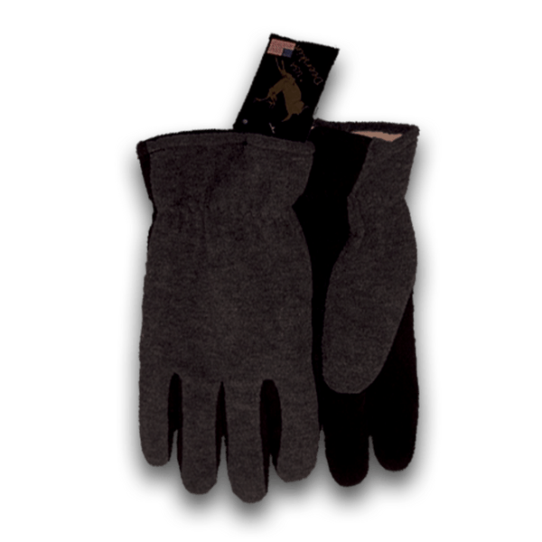 1663 Deerskin Suede Palm Fleece Lined Glove
