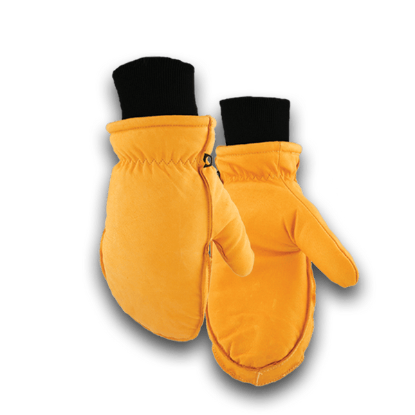 190 Heavy Duty Lined Pigskin Chopper Glove