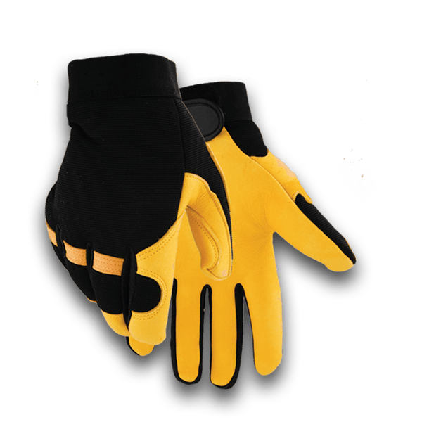 2150H Heavy Duty Winter lined Deerskin Glove