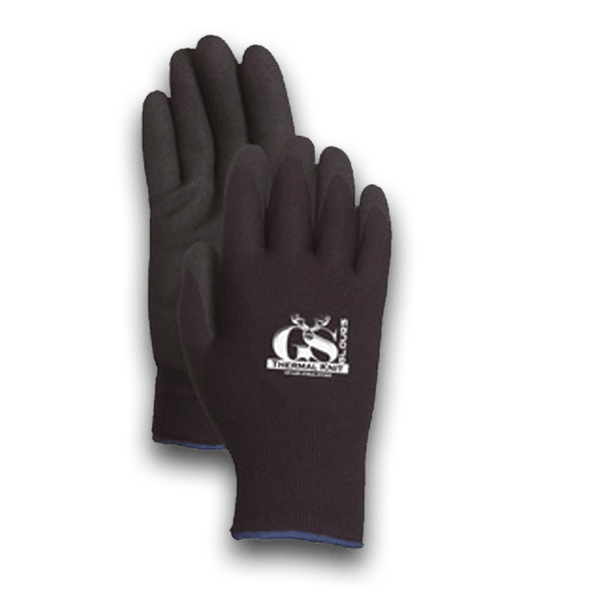 4001BK Heavy Duty Black Coated Palm Glove