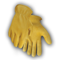 402 Seemless Palm Deerskin Glove