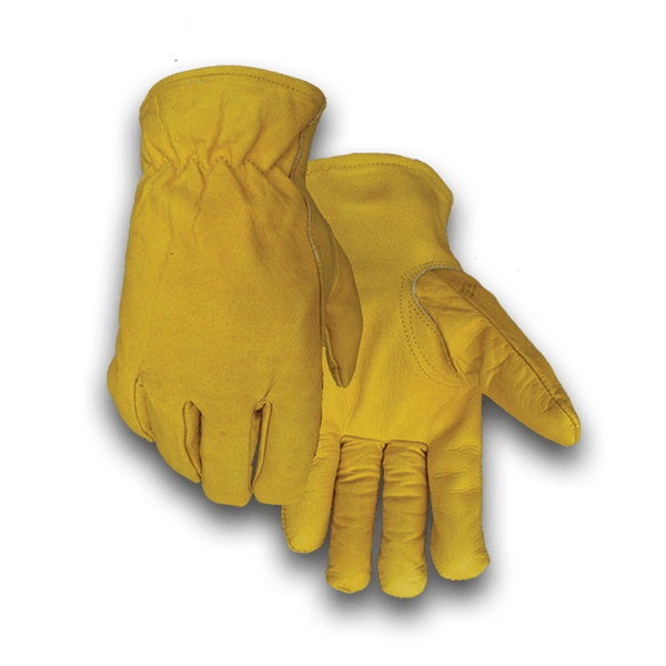 426F Heavy Duty Gold Buffalo Fleece Lined Winter Glove