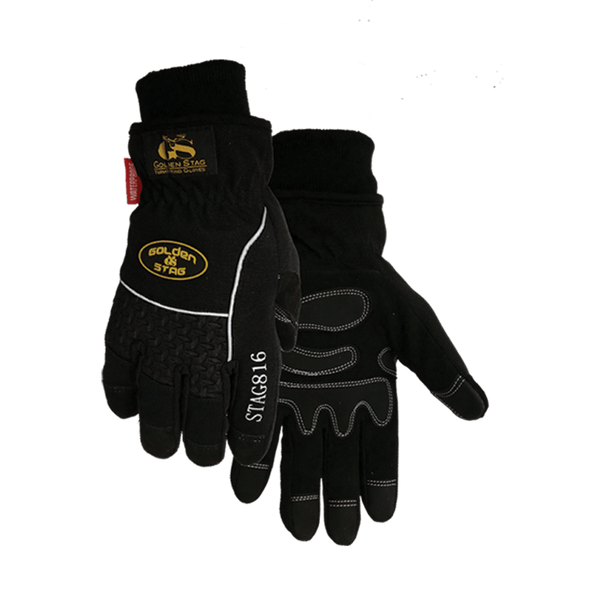 816 Heavy Duty Waterproof Goatskin Glove Winter Lined