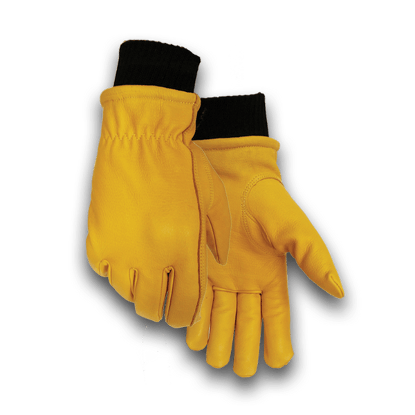 853 Heavy Duty Thinsulate Lined Knit Wrist Elkskin Glove