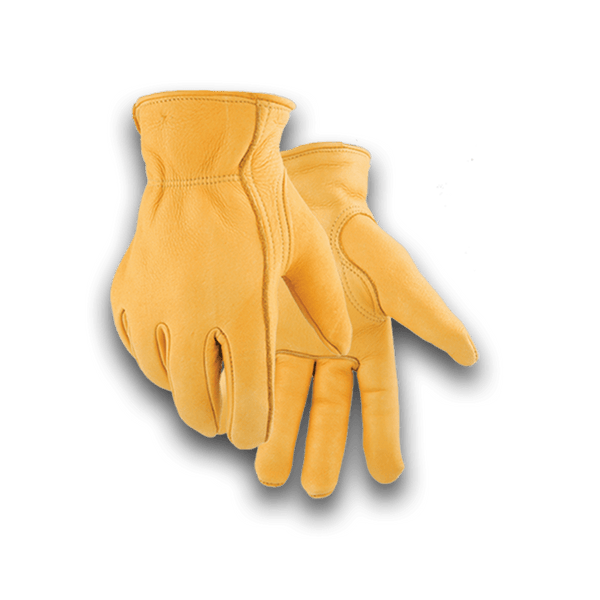 855W Heavy Duty Winter Lined Elkskin Glove