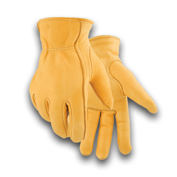 855 Heavy Duty Economy Lined Elkskin Glove