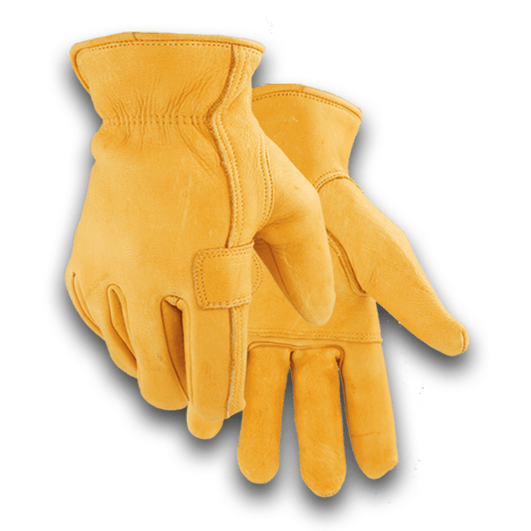 900 Heavy Duty Patch Palm Deerskin Glove