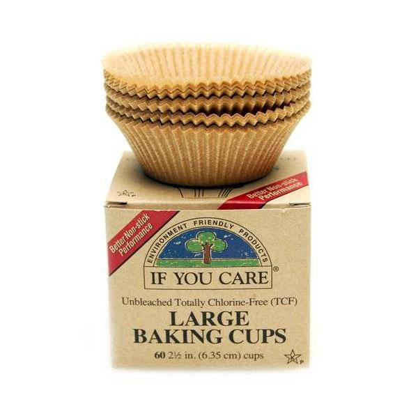 "If You Care Brown-2.5"" Baking Cups (1x60 Ct)"