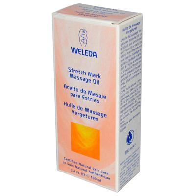 Weleda Stretch Mark Massage Oil (1x3.4 Oz)
