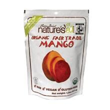 Nature's All Foods Free Trade Freeze Dried Raw Mango (12x1.2 Oz)