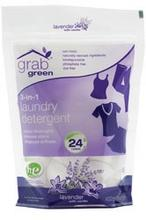 Grab Green 3-in-1 Laundry Detergent Lavender With Vanilla (6x24 Ct)