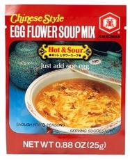 Kikkoman Egg Flower Soup Hot & Sour (12x0.88oz)
