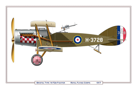 Bristol Type 14 F2.B Fighter