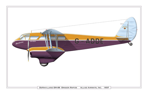 "DeHavilland DH-89 ""Dragon Rapide"""