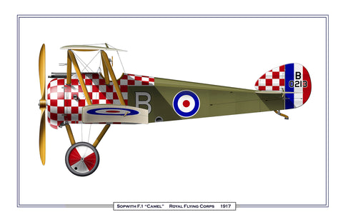 Sopwith Camel - Checkered