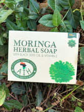 Load image into Gallery viewer, 🌳Moringa Herbal Soap! (With Black Seed Oil & Vitamin E)🌳