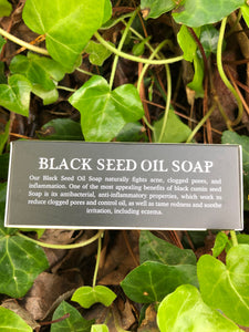 🍃⚫️Herbal Black Seed Oil Soap! (With Coconut Oil Shea Butter)⚫️🍃