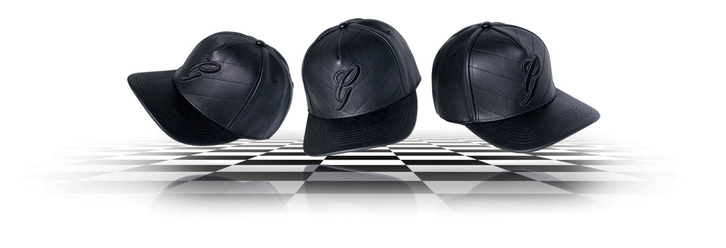 Gallis London Luxury Leather Headwear Baseball Snapback Caps