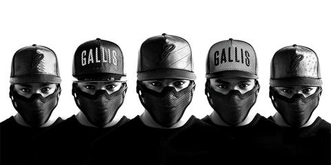 Gallis - leather snapback - Gallis Cap