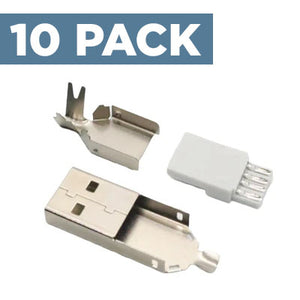 USB-A Connector (10 Pack)