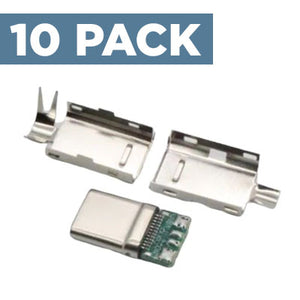 USB-C 2.0 Connector (10 Pack)