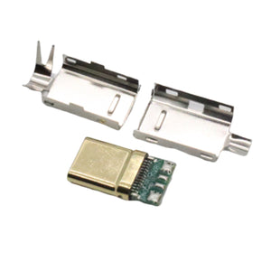 USB-C 2.0 Connector (Gold Tip)