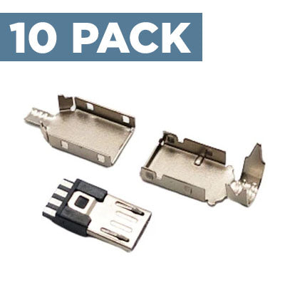 USB-Micro Connector (10 Pack)