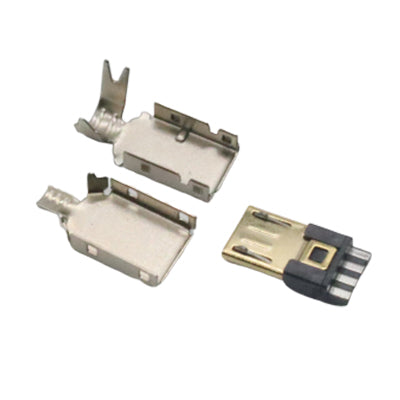 USB-Micro Connector (Gold Tip)